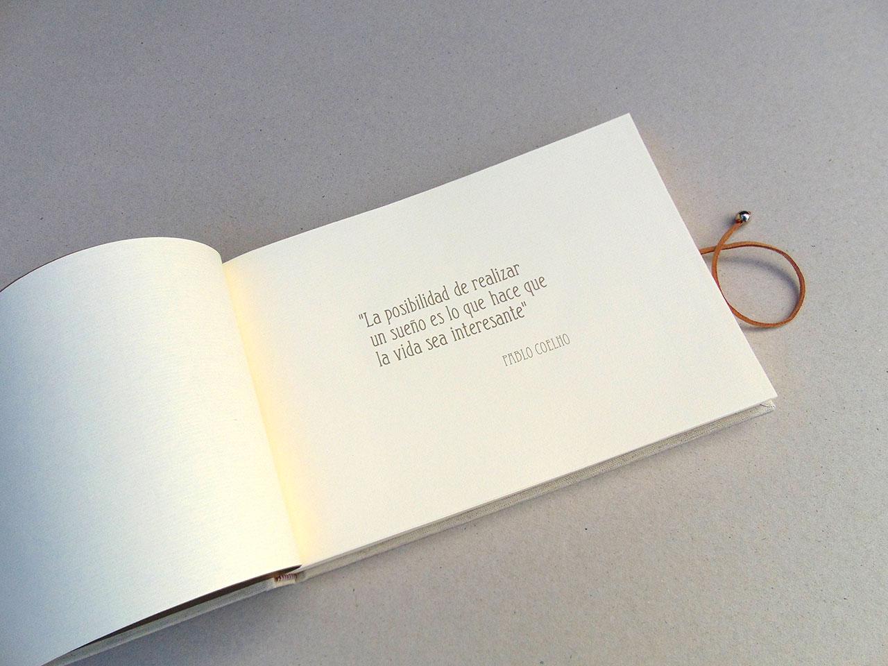 Libros de testigos para bodas 2. MardePapel