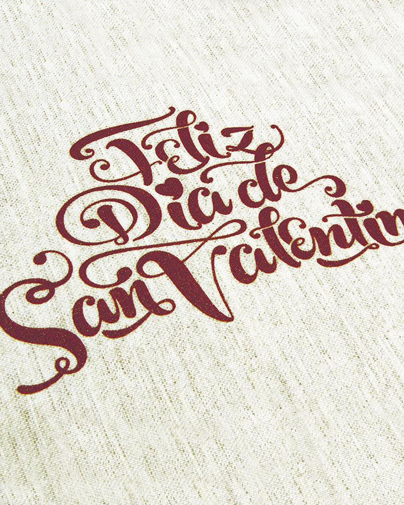 Estampado diseño Día de San Valentín