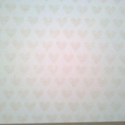 Libro de firmas con corazones beige 7. MardePapel