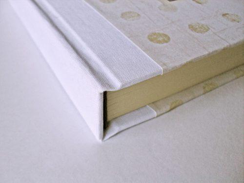 Libro de firmas blanco con marco de foto 1. MardePapel