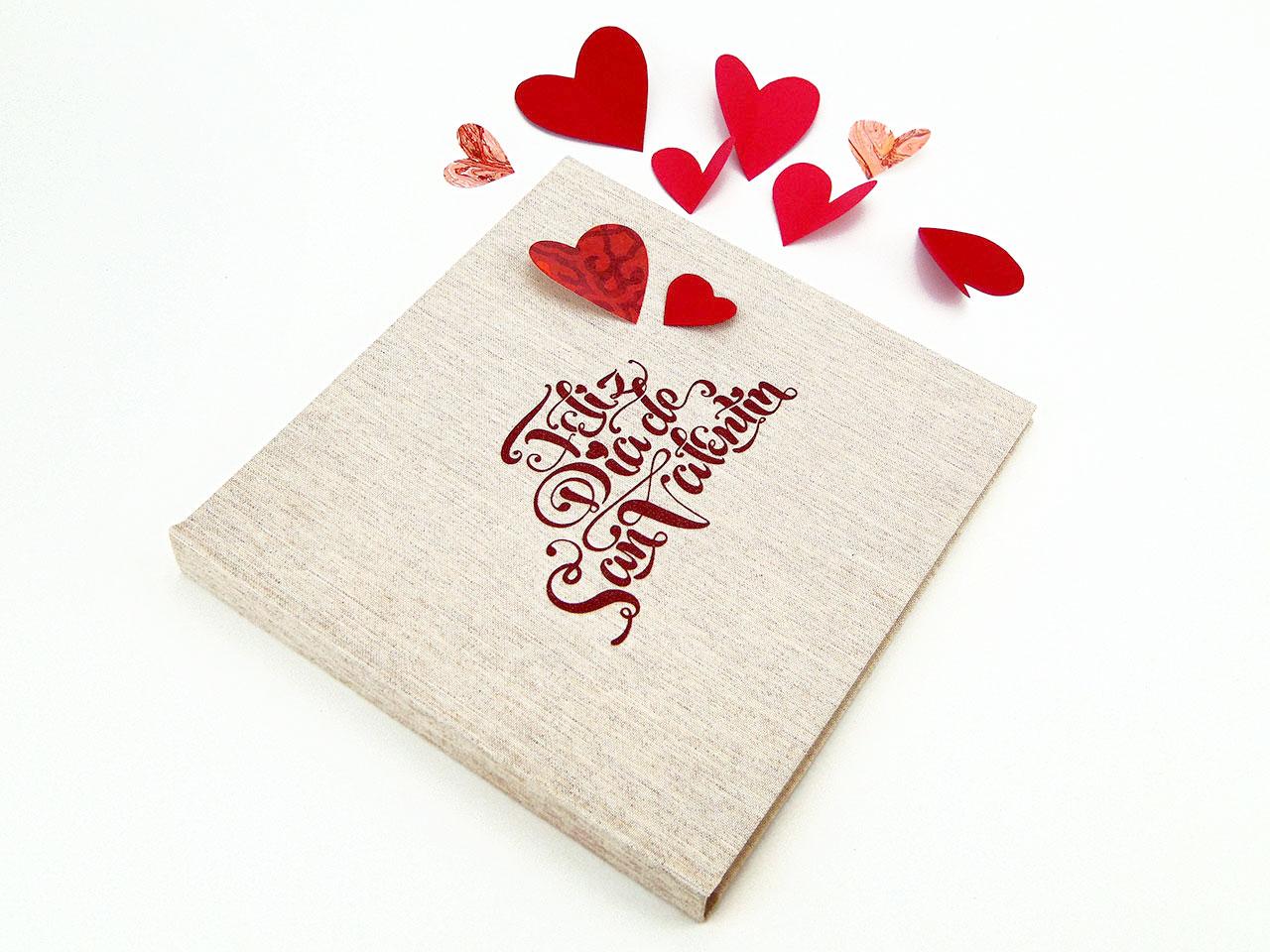 Álbum foto firmas San Valentín