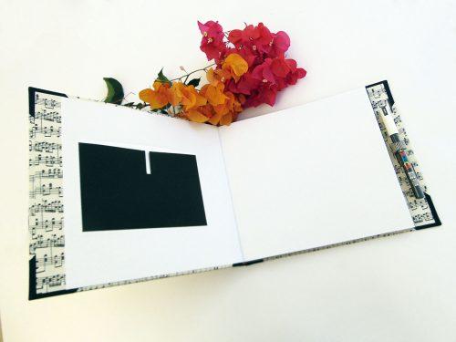 Álbum de foto y firmas musical 7. MardePapel