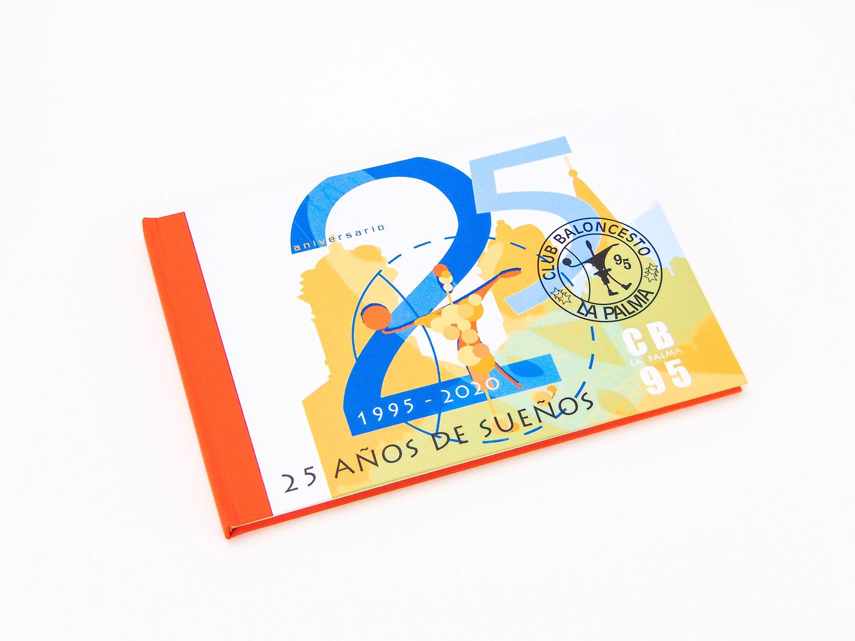 Libro de firmas para el Club de Baloncesto La Palma.