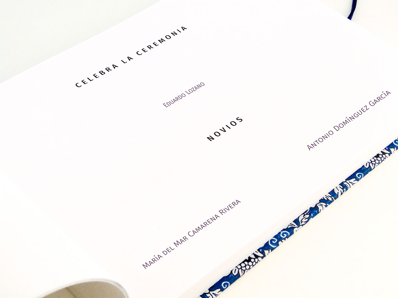 Página de inicio en tipografía Fira Sans