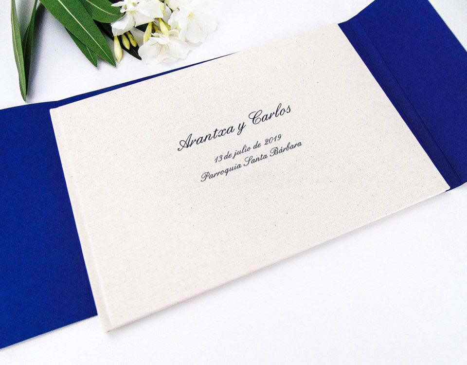 Libro de firmas para boda 2020-11. Mardepapel