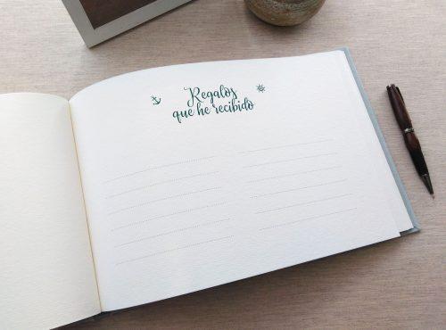 Libro de firmas niño de comunión 10. MardePapel