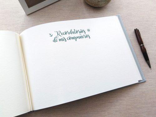 Libro de firmas niño de comunión 13. MardePapel