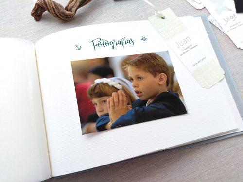 Libro de firmas niño de comunión 17. MardePapel