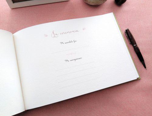 Libro de firmas comunión Líneas de colores 11. MardePapel