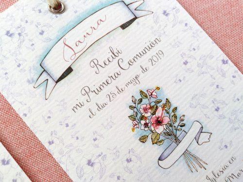 Recordatorio Ramo de flores 3. MardePapel