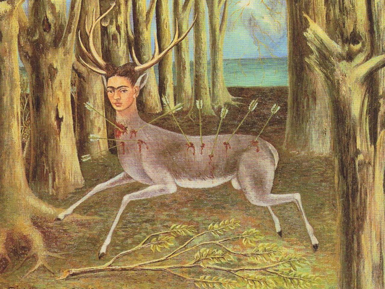 Frida Khalo <br>El venado herido. 1946
