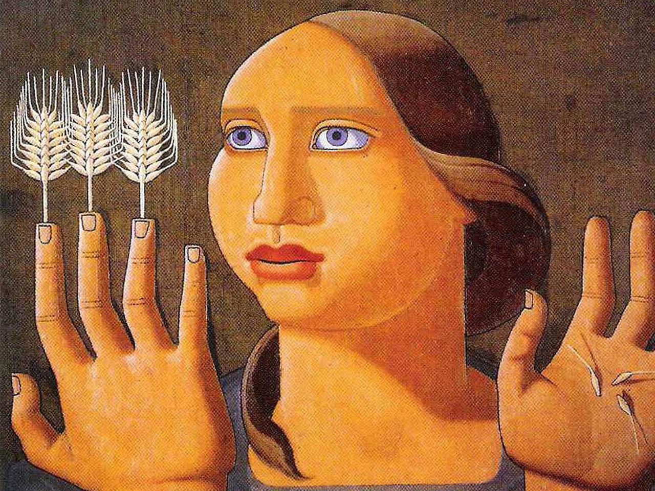 Maruja Mallo <br>Sorpresa del Trigo 1936