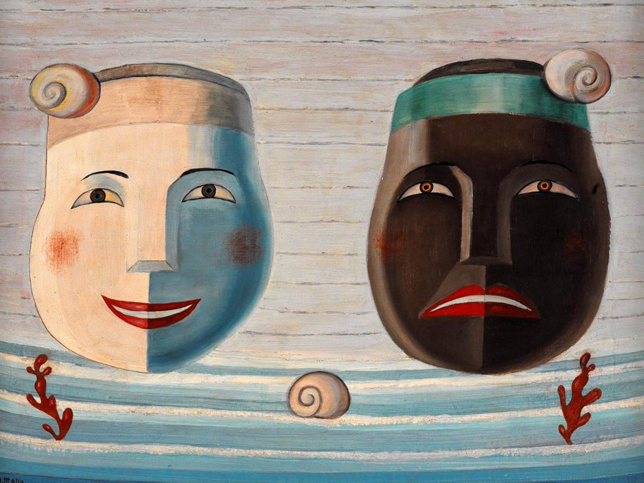Maruja Mallo <br>Máscaras 1951