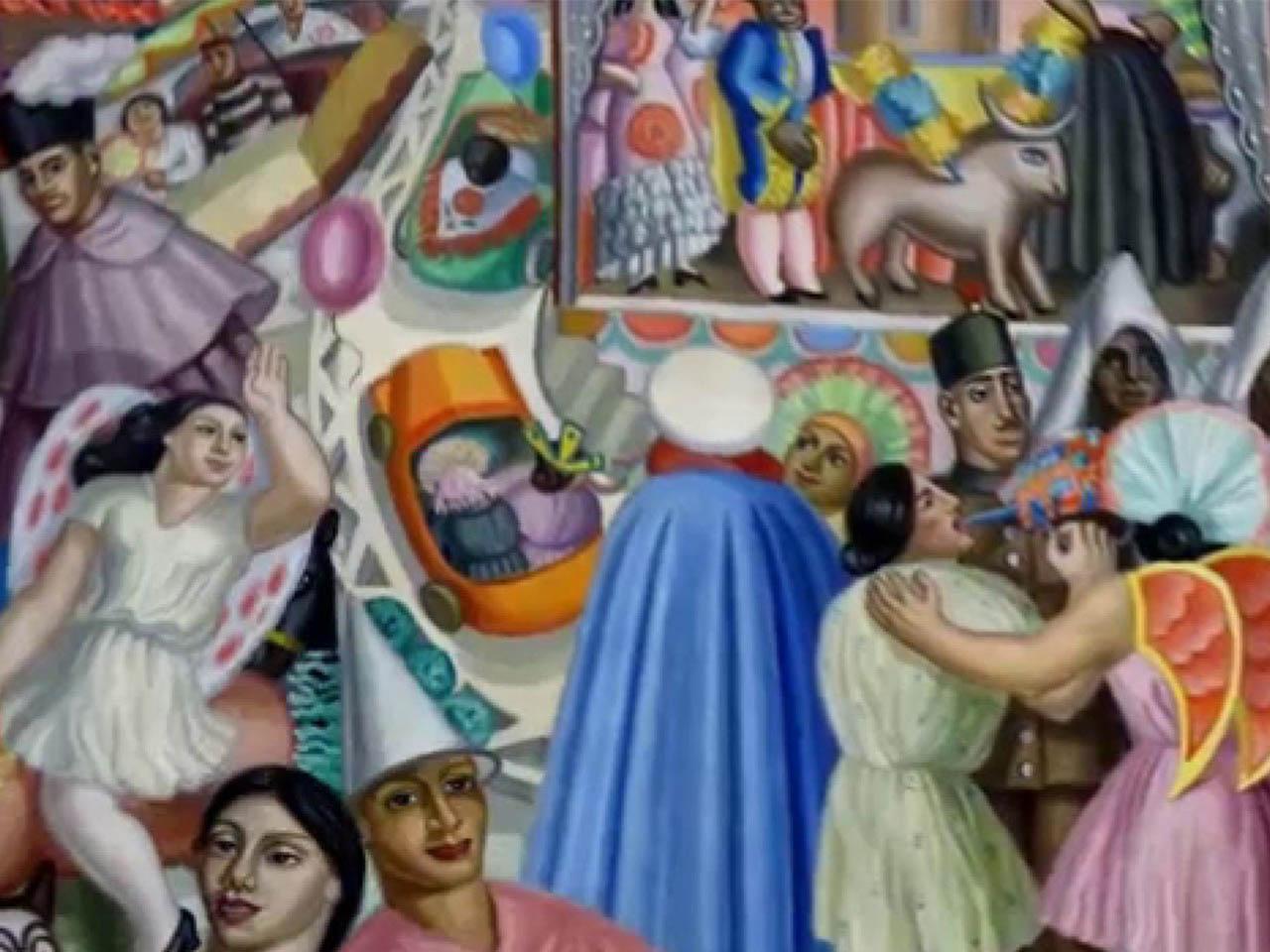 Maruja Mallo <br>La kermese 1928