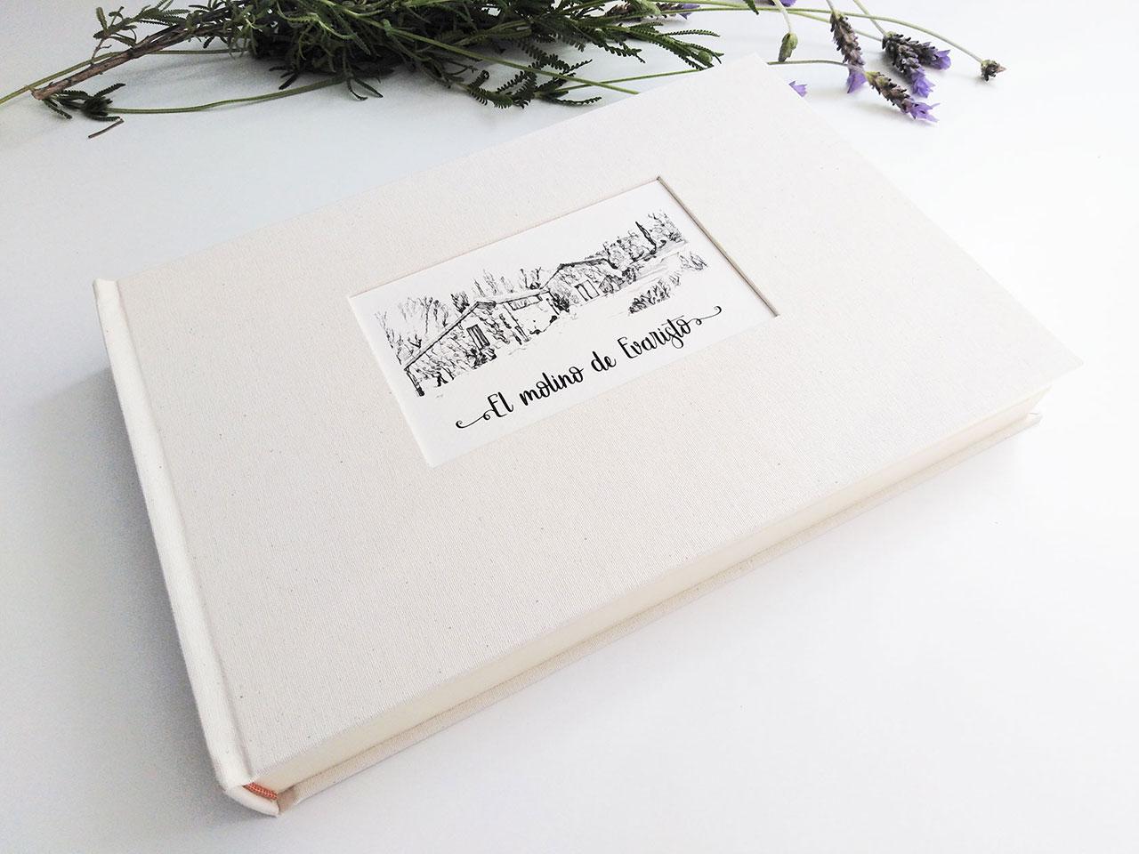 El Molino de Evaristo<br> Libro de firmas