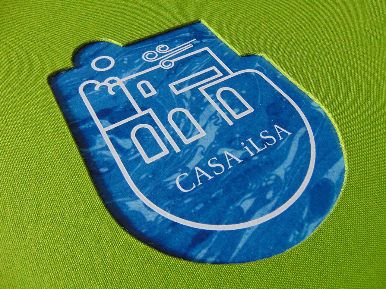 Logotipo Casa Ilsa <br>en bajorelieve