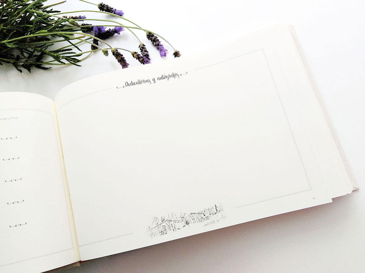 Página para dedicatorias <br>y autógrafos.