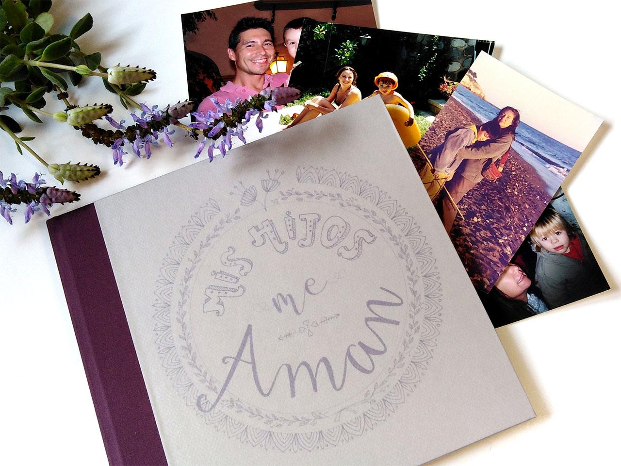 Álbum de fotos para el día <br>de la madre